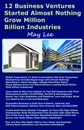 12 business ventures started almost nothing grow million billion industries