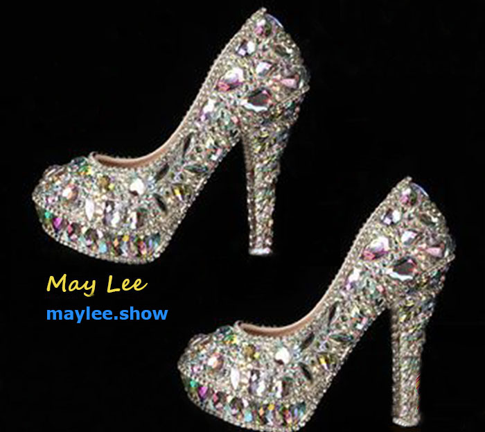 5 maylee.show luxury brands most expensive gold diamond shoes