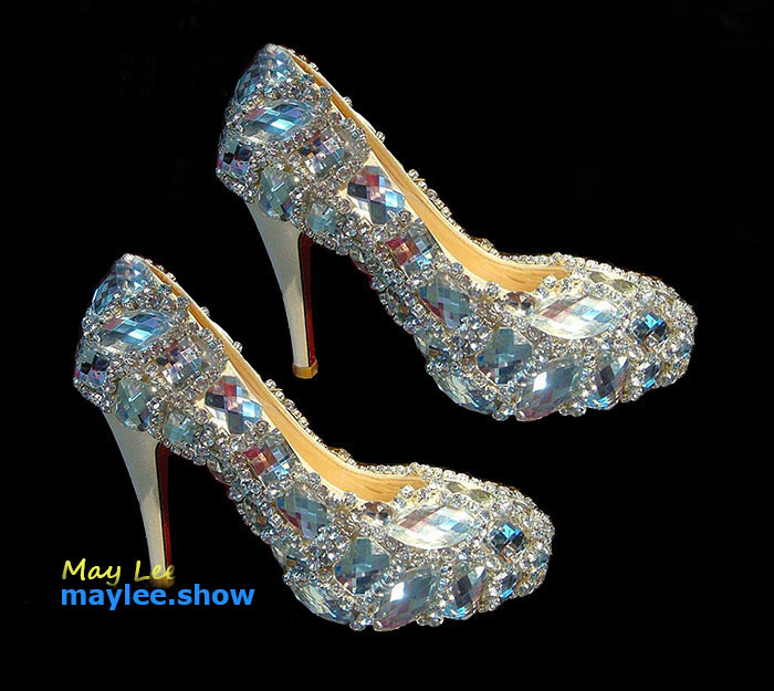 8 maylee.show luxury brands most expensive gold diamond shoes