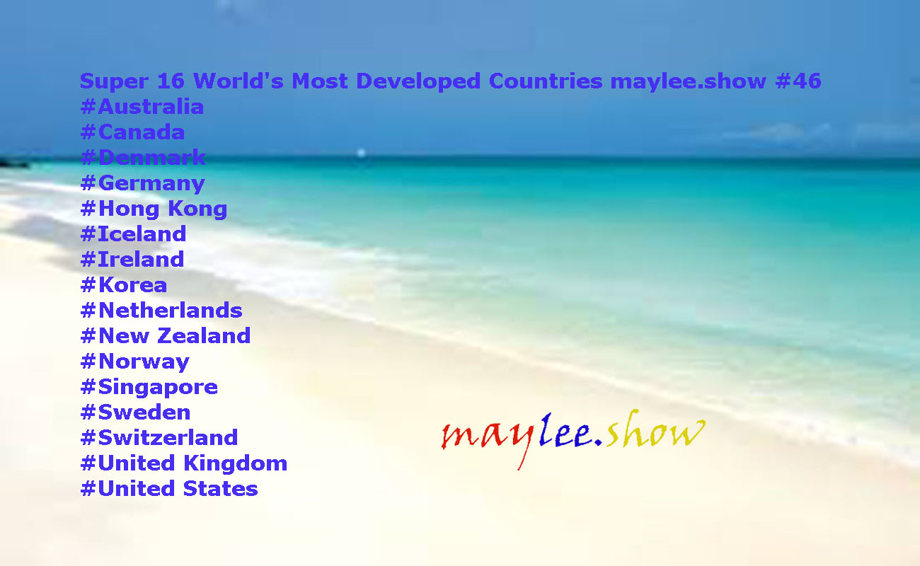 super 16 worlds most developed countries maylee.show 46