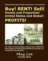 Buy RENT Sell Homes and Properties United States and Global PROFITS
